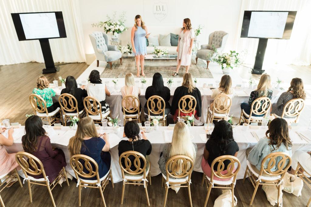 Infnity Weddings Director attending a workshop