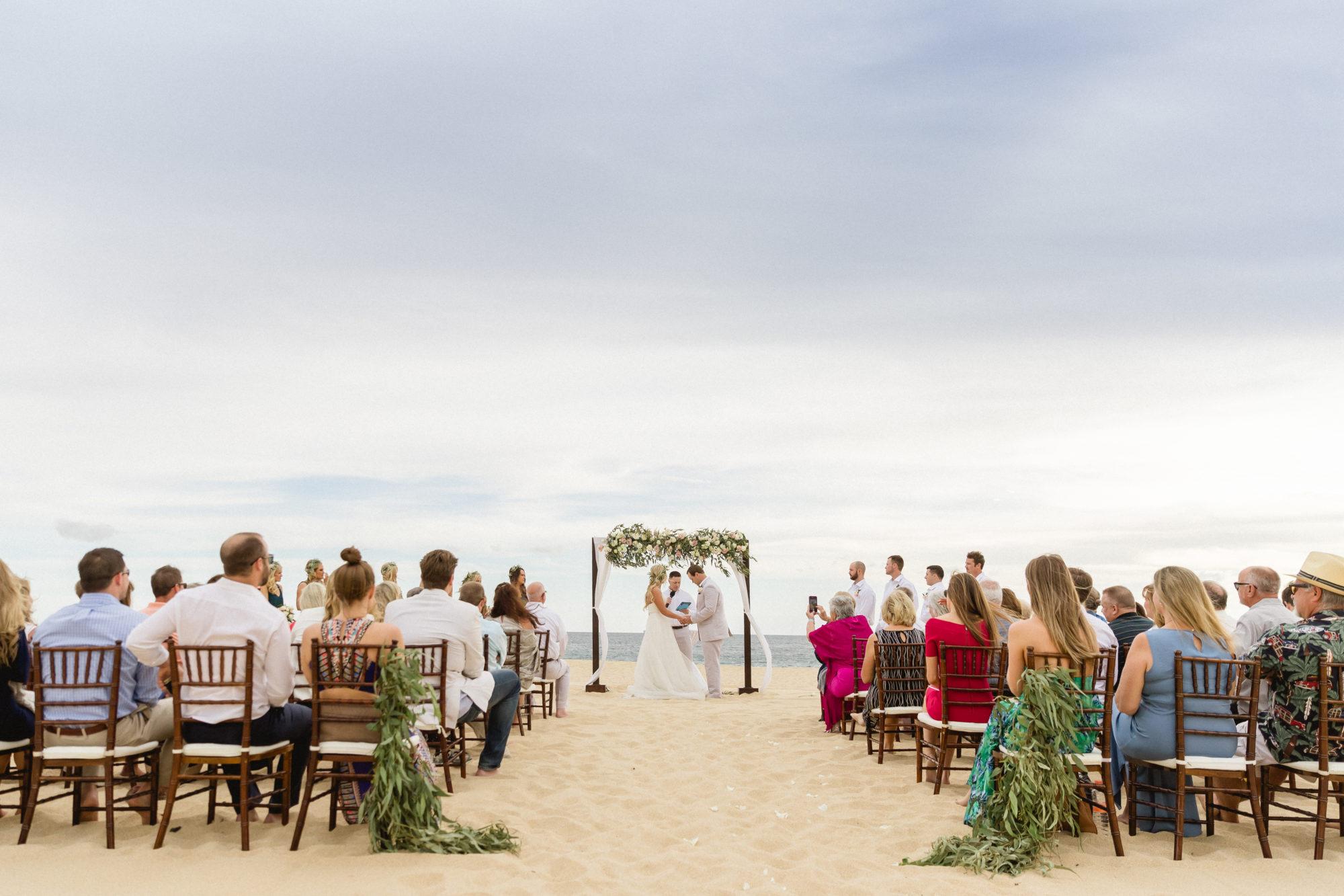 Beachfront Ceremony Los Cabos